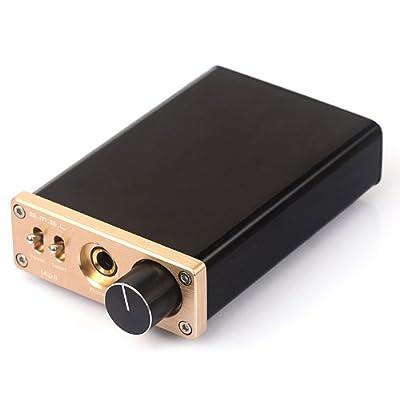SMSL sApII TPA6120A2 Big Power High Fidelity Stereo Headphone Amplifier + DC24V Power Adapter - Silver
