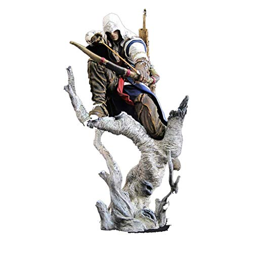 JIANCHI Anime Action Figures, Cartoon Character Model, Assassin's Creed Connor Archery Style, Decoration Ornament Collection Crafts Adult Children's Toy, 26cm -