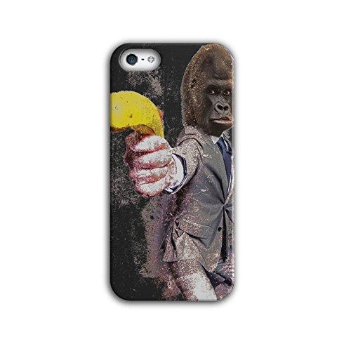 [Funny Gorilla Suit Monkey Banana NEW Black 3D iPhone 5 / 5S Case | Wellcoda] (Banana Gorilla Costume)