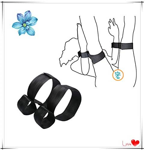 Black cuff rubber band, suitable for wrists and thighs