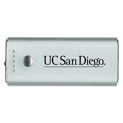 - LXG, Inc. University of California, San Diego-Portable Cell Phone 5200 mAh Power Bank Charger -Silver