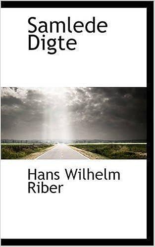 Book Samlede Digte by Hans Wilhelm Riber (2008-11-14)
