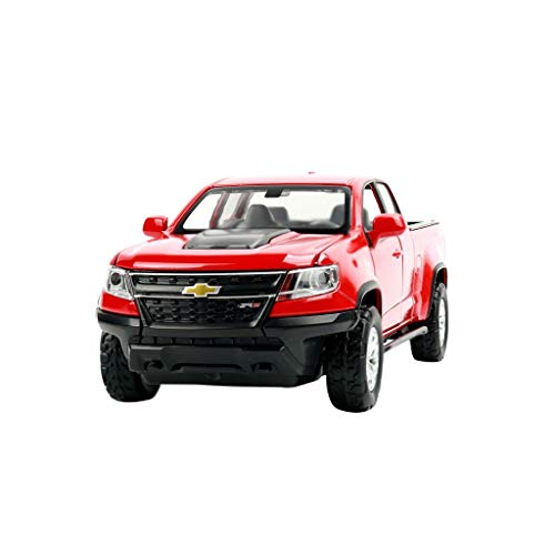 Chevrolet Colorado Pickup Truck Model for 5-12 Years Old Children Alloy (Color : Red)