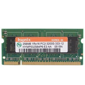 Hynix 256MB DDR2 RAM PC2-3200 200-Pin Laptop SODIMM