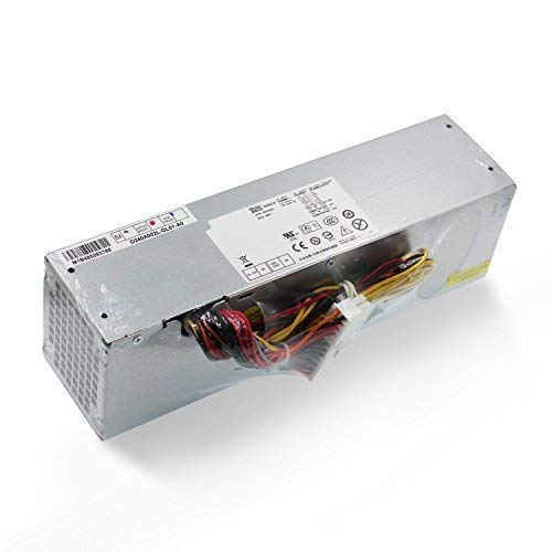 Mackertop 240W Desktop Power Supply Unit PSU Replacement for DELL OptiPlex  390 790 990 3010 7010 9010 (Small Form Factor) SFF Systems H240AS-00