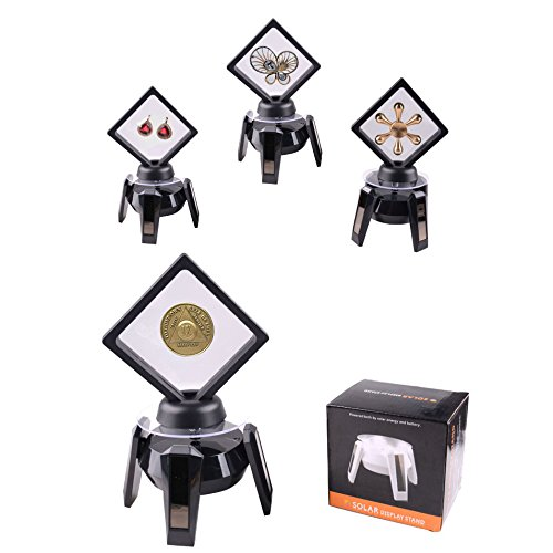 Matchless Store Rotating Coin Display Stand - 360° - Solar Powered Stand