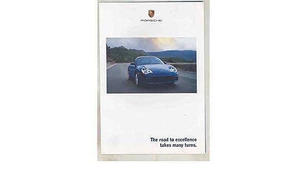 Amazon.com: 2002 Porsche 911 Carrera Turbo GT2 Boxster Full Line Brochure 4S Poster: Entertainment Collectibles