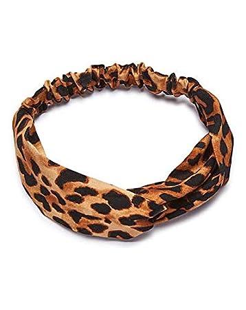 49ea1860df8 Headband Hair Bands Twisted Boho Turban Yoga Sports Running for Women Girls  Holiday Fashion Gifts Headwrap