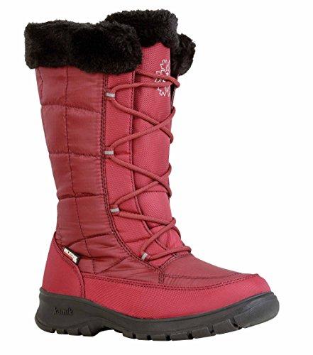 Kamik Womens New York 2 Winter Boot In Legno Di Palissandro