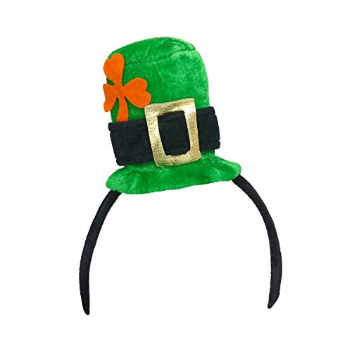Leprechaun Head - St. Patricks Day Women Girl Costume Mini Leprechaun Hat Party Headwear