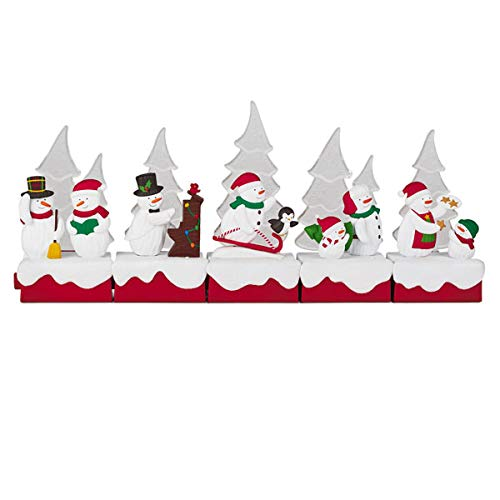 HMK Hallmark 2018 Continuity Snow Many Memories - Special Edition Collector's Set (Figurine Set Christmas Caroling)