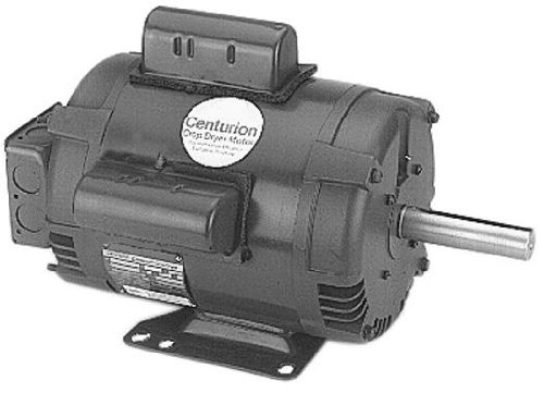 A.O. Smith K221 7-10.5 HP, 3600 RPM, 1 Speed, 1 Service Factor, 184TZ Frame, None Protector, ODP Enclosure Farm Duty Motor