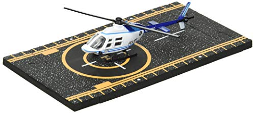 Hot Wings Bell 206 Jet Ranger (Police) with Connectible Runway