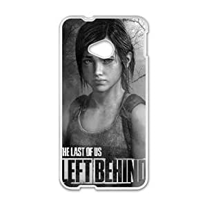 HTC One M7 Phone Case White The Last of Us HJF685230