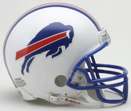 Bills Throwback Mini - Riddell Buffalo Bills Mini Replica Throwback Helmet