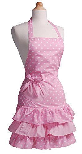Flirty Aprons Women's Marilyn, Strawberry Shortcake