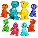 Microsaurs Tiny Dinosaurs Figures - Lot of 20