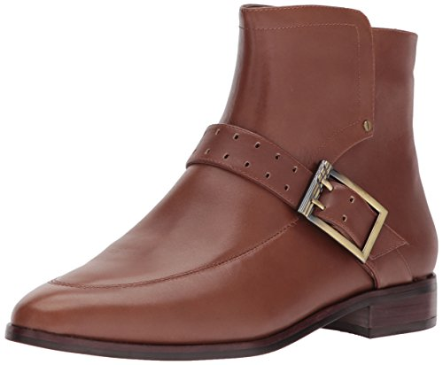 Aerosoles Womens Back East Ankle Boot Dark Tan Leather