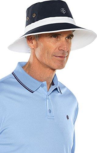 Coolibar UPF 50+ Men's Matchplay Golf Hat – Sun Protective – DiZiSports Store