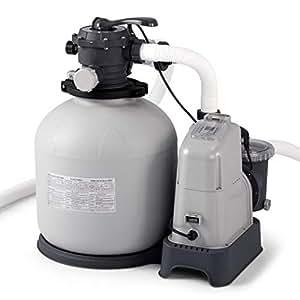 Amazon Com Intex Krystal Clear 2150 Gph Sand Filter Pump
