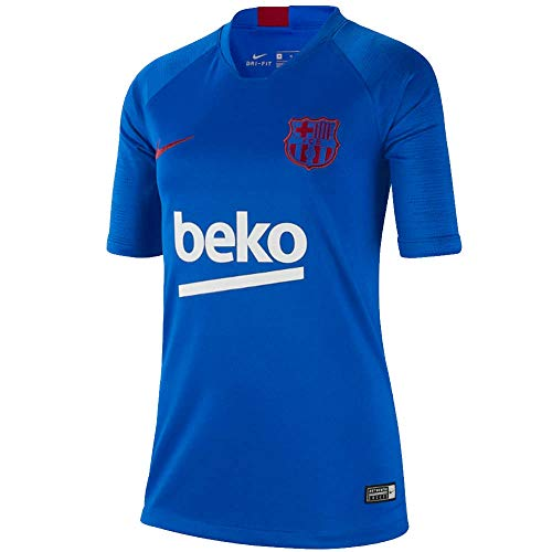 Nike 2019-2020 Barcelona Training Football Soccer T-Shirt Jersey (Blue) - ()