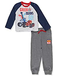 Blaze and the Monster Machines Boys' 2-Piece Pants Set Outfit