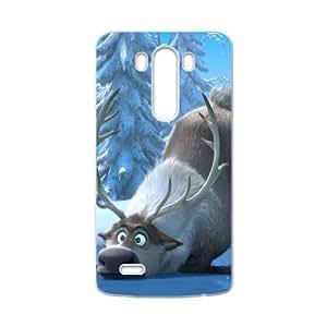 HDSAO Frozen Reindeer Sven Cell Phone Case for LG G3