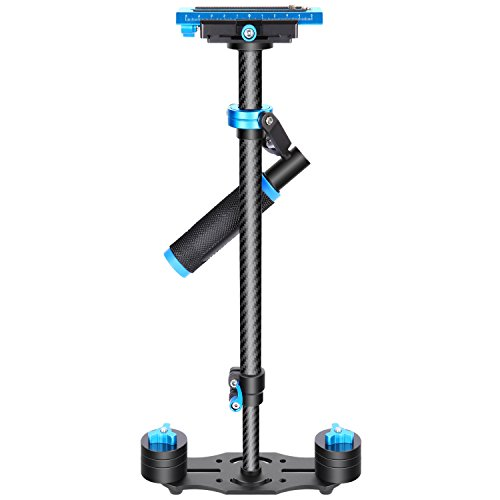 Neewer Carbon Fiber 24 inches/60 centimeters Handheld Stabilizer with 1/4...