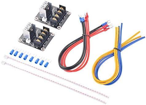 2pc Kit de calor de lecho módulo de alimentación de expansión de ...