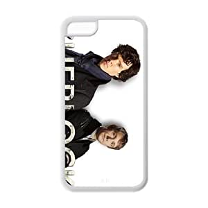 """iphone 5/5s iphone 5/5s plastic and TPU protective cheap case cover with TV show """"sherlock"""