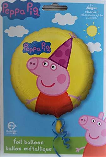 Queenie Cards Globo De Peppa Pig En Caja Decoracion De Cumpleanos