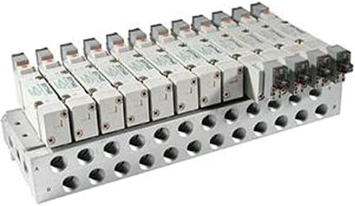 Manifold base for SY7000 series; bar stock; base mt; 2 stat; individ wiring