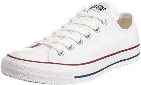 Converse Unisex Chuck Taylor All Star Ox Basketball Shoe (5.5 Men = 7.5 Women, Optical White)