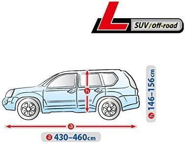 Auto Abdeckplane Sonnenschutz kompatibel mit Nissan Qashqai I 4DBASICL SUV39 Kegel Blazusiak Basic Autoplane L SUV Vollgarage Ganzgarage