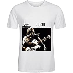 J J Cale 20th Century Masters The Millennium Collection The Best Of J Tour Greatest Hits Men Crew Neck Casual T Shirts White