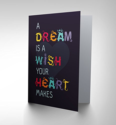 Dream Oil Painting - Wee Blue Coo NEW DREAM WISH HEART LOVE ART GREETINGS GREETING CARD GIFT CP1783