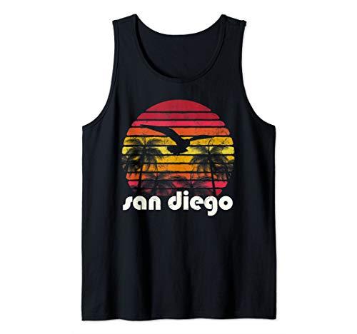 Vintage Retro San Diego California 70's 80's