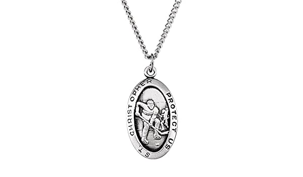 Christopher//Fishing Pendant DiamondJewelryNY Sterling Silver St