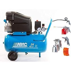 Compresor de aire Position L20 litros 24 más kit 5 unidades