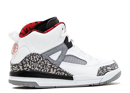 best service 537a3 a2298 Nike Air Jordan Spizike BP Little Kid s Shoes White Cement Grey, 3