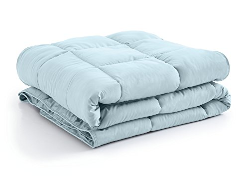 Southshore Fine Linens - Vilano Springs - - Down Alternate Weight Comforter - Sky Blue - King/California King