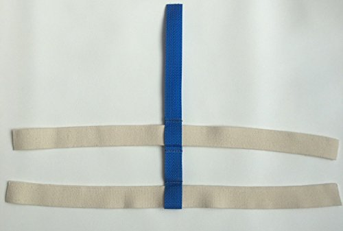 (Fix My Gear Goalie Mask Harness (Blue))