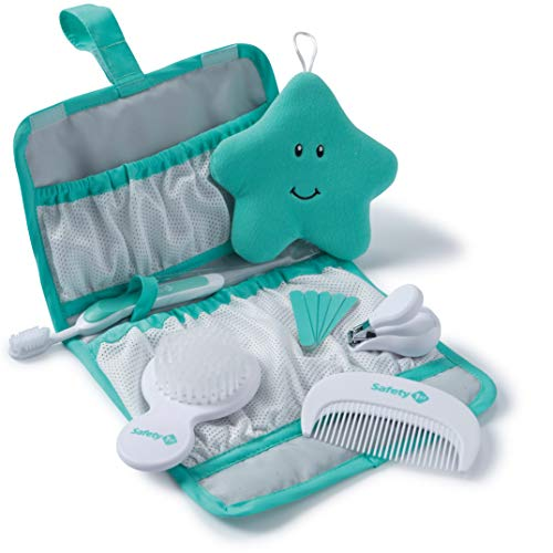 Safety 1st Complete Grooming Kit, Pyramids Aqua (Safety 1st Deluxe Health & Grooming Kit Green)