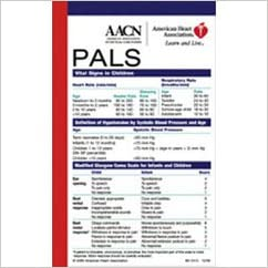 Amazon.com: Pals Pocket Reference Card: Vitical Signs in Children ...
