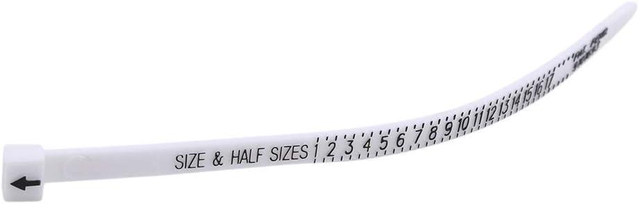 lehao Ring Ruler Finger Sizer Gauge Jewelry Size Measuring Tools for Men Women,British
