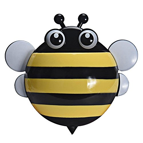 SODIAL Creative bee powerful suction Toothbrush holder, Toot