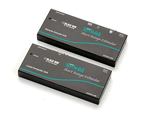 Black Box KVM Extender, Short Range-75ft, VGA, USB, CATx