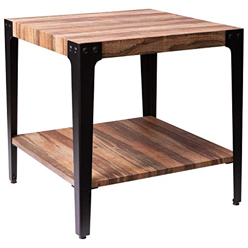 Amazon Com Ironck End Tables Living Room Side Table With