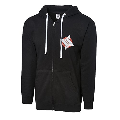 WWE Authentic Wear WWE Shinsuke Nakamura Strong Style Has Arrived Full Zip Hoodie Sweatshirt Black Large by WWE Authentic Wear