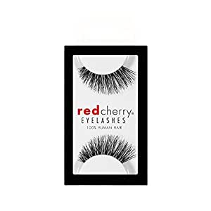 Red Cherry False Eyelashes #43 (Pack of 3)